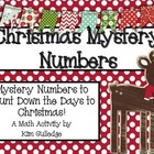 Twelve Days of Christmas Math Mystery Numbers - Common Cor