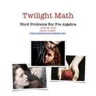 Twilight Math Word Problems