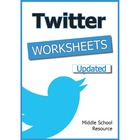 Twitter Worksheets Part 1