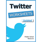 Twitter Worksheets ****UPDATED****