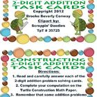 Two Digit Addition Task Cards (2-digit)