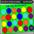 Two Digit Multiplication on the SMARTboard with a Koosh Ball