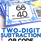 Two-Digit Subtraction QR Code Fun (With and Without Regrouping)