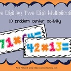 Two Digit by Two Digit Multiplication Center Activity