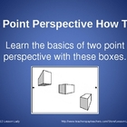 Two Point Perspective How To PowerPoint: Basic Boxes - FREE