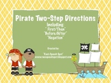 Two-Step Directions {Pirate Theme!}