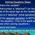 Two Step Equations Lesson