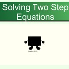 Two Steps Equations (100 questions), Worksheet