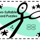 Two Syllable Word Puzzles/Phonemic Awareness