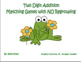 Two digit addition matching games with NO regrouping