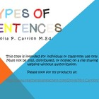 Type of Sentences 3-5