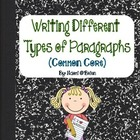 Types Of Writing Pack for 1st - 3rd (Common Core)