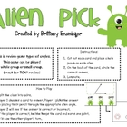 Types of Angles: Alien Angle Pick Game