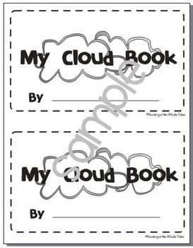 Types of Clouds Book