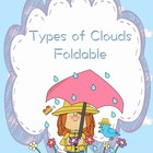 Types of Clouds Foldable