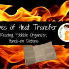 Types of Heat Transfer Foldable and Station Activity