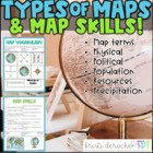 Types of Map- Social Studies grades 2-4