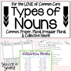 Types of Nouns (Common Core)