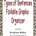 Types of Sentences Foldable Graphic Organizer