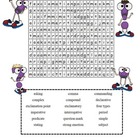 Types of Sentences Word Search