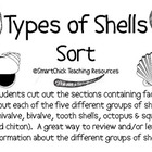 Types of Shells Sort Packet