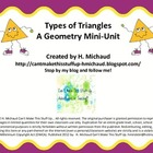 Types of Triangles Mini Unit