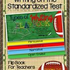 Types of Writing Playbook: Standardized Tests -For Teacher