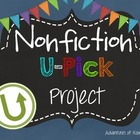 U-Pick Project (For any fiction and nonfiction book)
