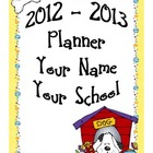 ULTIMATE Teacher Planner - Fun Dog Theme - Lots of Useful Forms