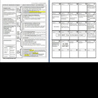 UNIT OUTLINE - PLANNER - CALENDAR