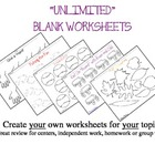 UNLIMITED WORKSHEETS...WITH ANY TOPIC