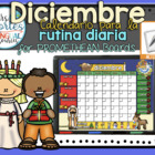 UPDATED!! ACTIVBOARD Calendar Math- Diciembre(Spanish)
