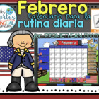 UPDATED!! ACTIVBOARD Calendar Math-Febrero (Spanish)