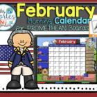UPDATED!! ACTIVBOARD Calendar Math- February (English)