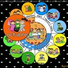 UPDATED!! ACTIVBOARD Calendar Math- Octubre (Spanish)