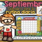 UPDATED!! ACTIVBOARD Calendar Math- September (Spanish)