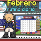 UPDATED!! SMARTBOARD Calendar Math-Febrero (Spanish)