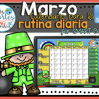 UPDATED!! SMARTBOARD Calendar Math- Marzo  (Spanish)