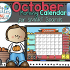 UPDATED!! SMARTBOARD Calendar Math- October  (English)