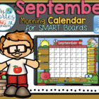 UPDATED!! SMARTBOARD Calendar Math-September  (English)