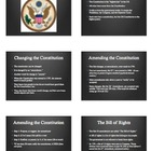 US Citizenship: Great Seal &amp; Amendments