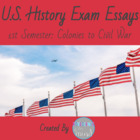 US History Civil War to Present 1st Semester Essays