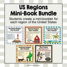 U.S. Regions Mini Booklets - All Six Regions Printable Worksheets
