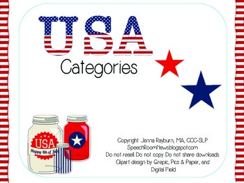 USA Categories