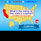 U.S.A. - Interactive States &amp; Capitals - PowerPoint Presentation
