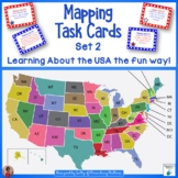 Mapping Task Cards USA Set 2