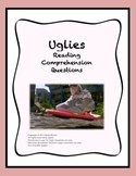 Uglies by Scott Westerfeld - Reading Comprehension Questions