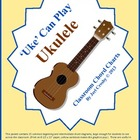 Ukulele Chord Charts / Posters - 15 Most Common Chords plu