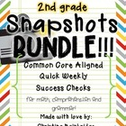 Ultimate 2nd Grade Snapshots Bundle- Math, Grammar, and Co