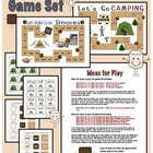 Ultimate Camping Theme Game Board Set (pre-k through first)